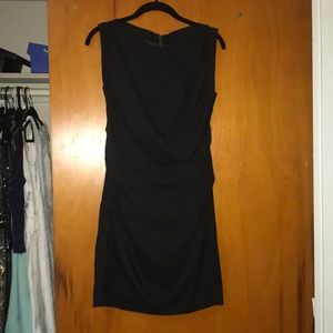 Express black sheath dress size 2
